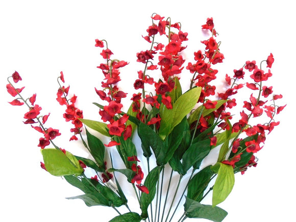 Lily of Valley Bush Artificial Silk Flowers 20