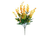 "Lily of Valley Bush Artificial Silk Flowers 20"" Bouquet 6217 - Phoenix Silk Flower Marketplace"