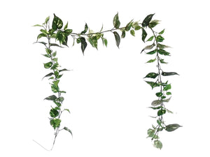 POTHOS Leaves 7ft Garland Artificial Greenery Vine 80007 - Phoenix Silk Flower Marketplace