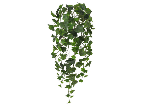 ENGLISH IVY Leaves Real Touch Hanging Bush 28