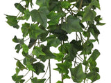 "ENGLISH IVY Leaves Real Touch Hanging Bush 28"" Artificial Silk Plants 80241GN"