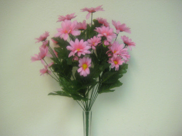 Daisy Bush Artificial Silk Flowers 14-828 19