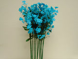 "12 Sprays Ruffle Baby Breath Filler Artificial Silk Flowers 18"" Stem 828 - Phoenix Silk Flower Marketplace"