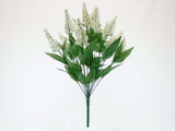 "Peppermint Bush Artificial Foam Flowers Filler 21"" Bouquet 14-9342 - Phoenix Silk Flower Marketplace"