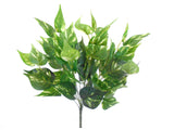 "POTHOS Leaf Bush Artificial Silk Greenery 17"" Plant 12 - 80183 - Phoenix Silk Flower Marketplace"