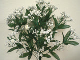 "WHITE Gypsos Baby Breath Bush Artificial Foam Flowers 17"" Filler 14-588WT - Phoenix Silk Flower Marketplace"