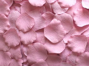 500 Rose Petals DUSTY ROSE High Quality Artificial Flowers 500-PT496