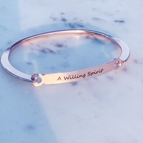 WHO LIVES / A Willing Spirit Bracelet