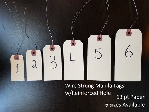 Wired Manila Tags