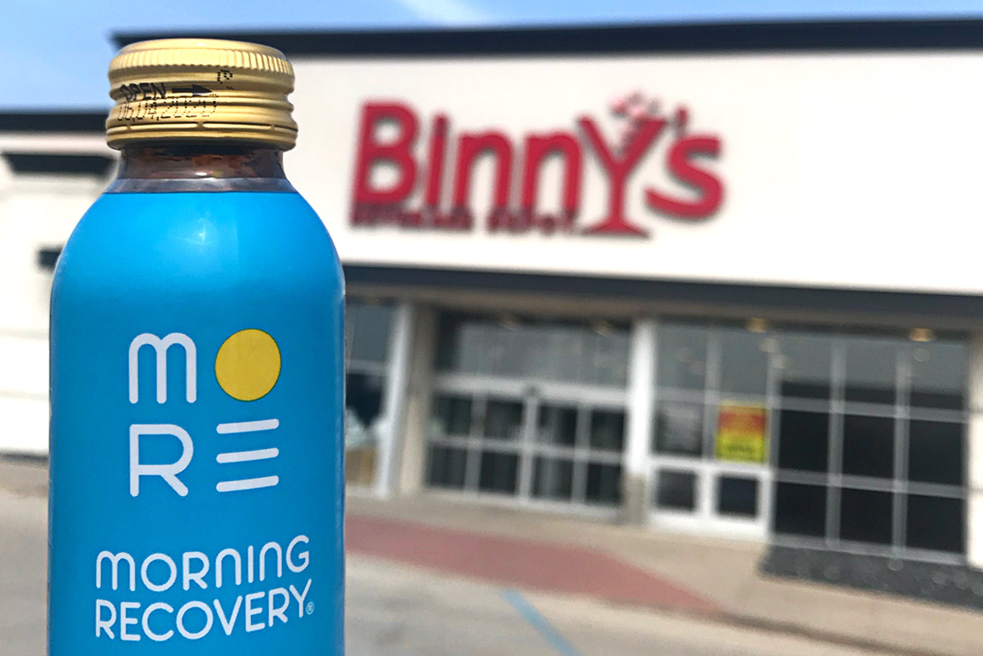 Find Morning Recovery at select Binny's locations throughout Illinois