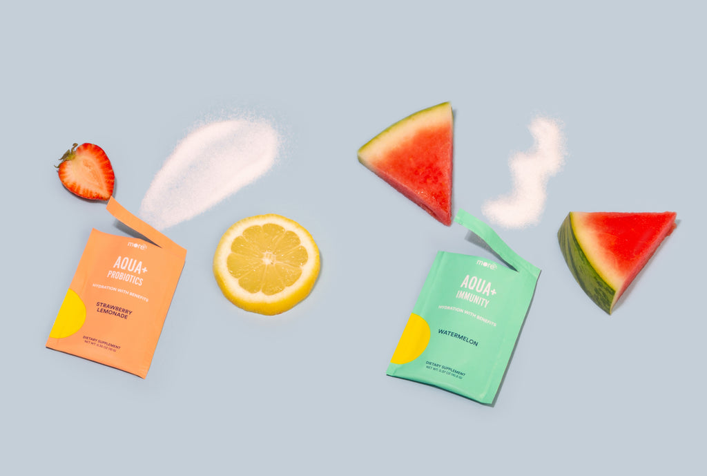 hydration enhancing powder by makers of hangover cure Morning Recovery