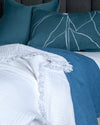 White Superfine Turkish Throw - Little Road Interior Design