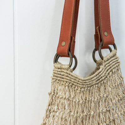 String Shopper Bag - Little Road Interior Design