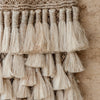 Natural Jute Wall Hanging with Tassels - Little Road Interior Design