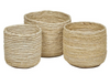Twisted Baskets - 3 sizes - Little Road Interior Design