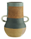 Hand Painted Terracotta Vessel - Little Road Interior Design