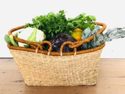 Seagrass Shopper Basket