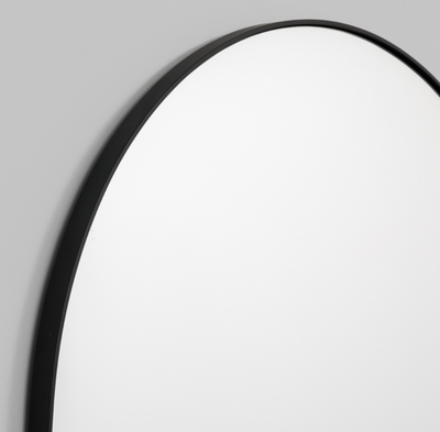 Arch Mirror - Black Frame