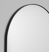 Arch Floor Mirror - Black Frame