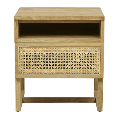Woven Side Table - Little Road Interior Design