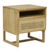 Willow Woven Side Table - Little Road Interior Design