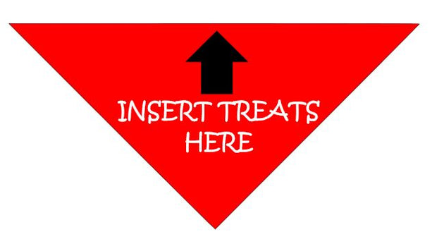 Pet Bandana - Insert Treats Here