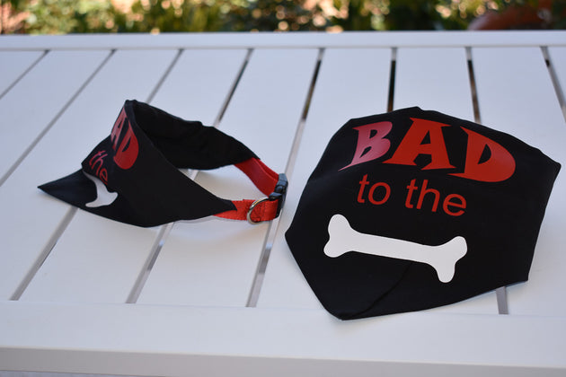 Pet Bandana - Bad to the Bone