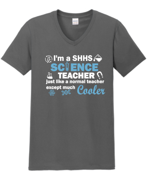 SHHS Science Teacher Spirit Shirt
