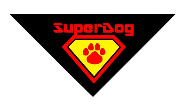 Pet Bandana - Superdog