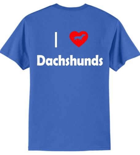 Dogs - I Love Dachshunds T-Shirt