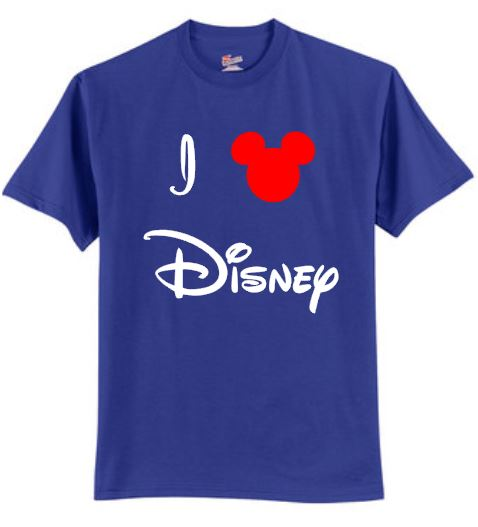 I Love Disney T-Shirt