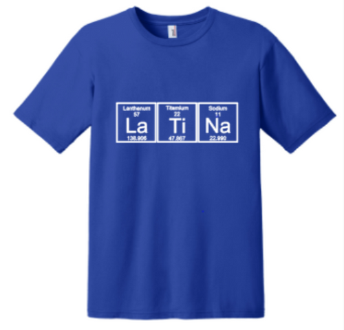 Periodic Table Latina t-shirt