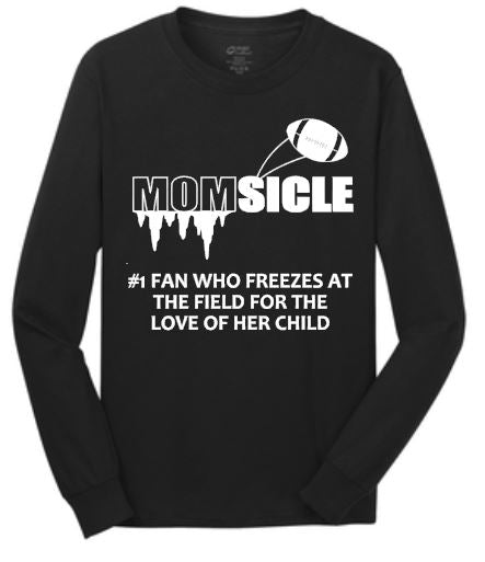 Momsicle - Football T-Shirt