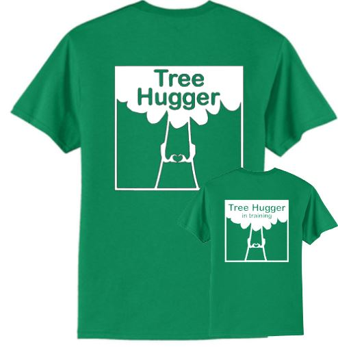 Tree Hugger and Tree Hugger in Training T-Shirt Set
