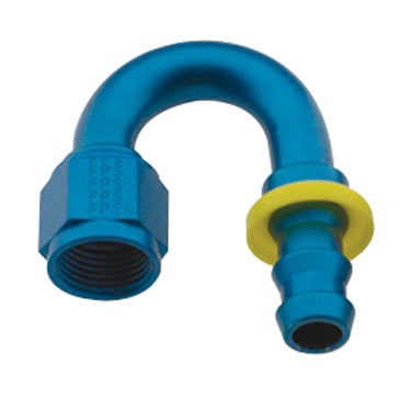 Fragola 8000 Series 180° Push Lock Hose End