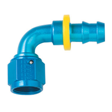 Fragola 8000 Series 90° Push Lock Hose End