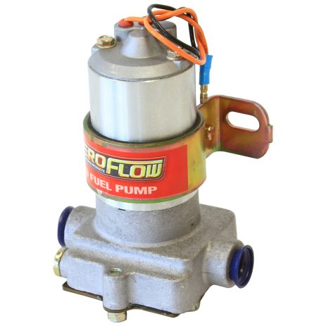 "Aeroflow Electric ""Red"" Fuel Pump 97gph @ 7Psi, 3/8"" NPT Inlet/Outlet"