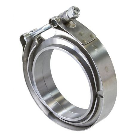 Aeroflow V Band Clamp with Flanges