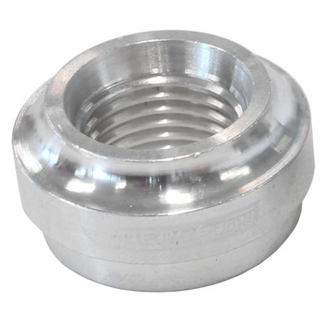 Aeroflow Aluminium Weld-On Female ORB Fitting