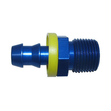 Fragola 8000 Series Push lock Hose End x NPT