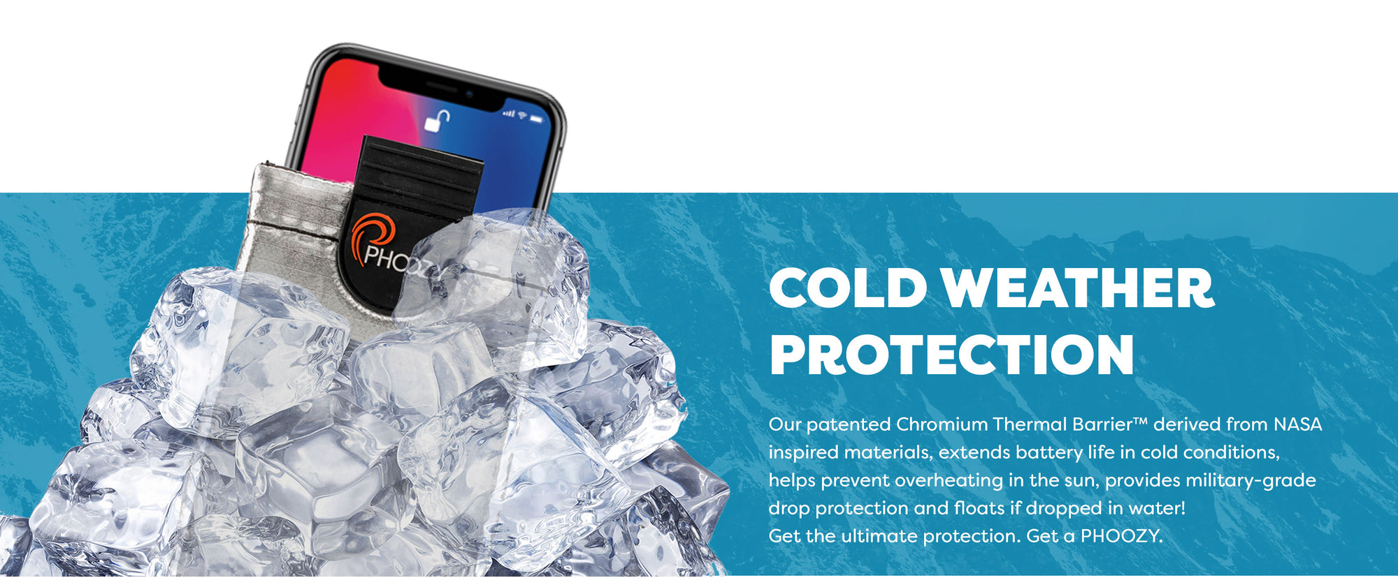 Ultimate cold weather protection for your phone
