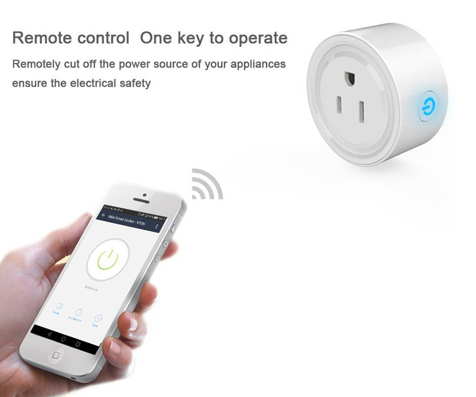 Smart wifi socket