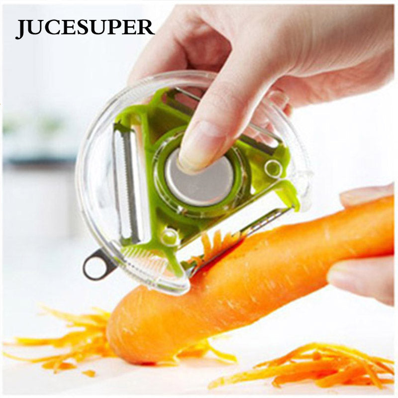 Multi peeler grater and slicer