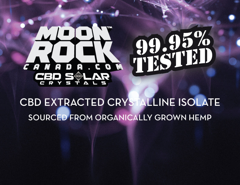 CBD SOLAR CRYSTALS are here!