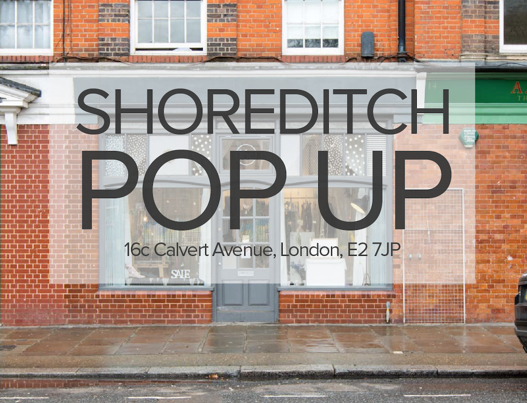 Shoreditch Pop Up Shop opening this Friday
