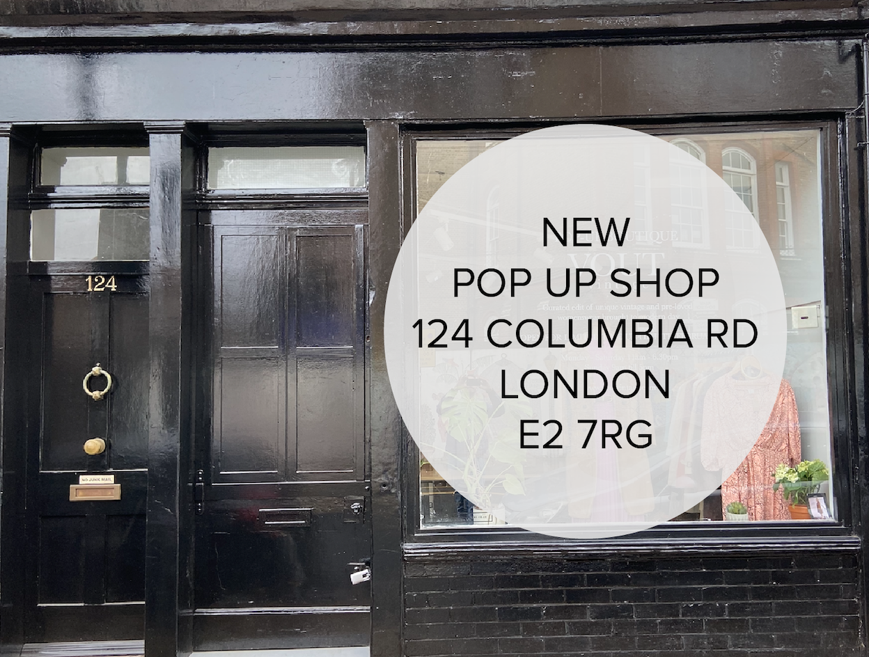 Columbia Road Pop Up