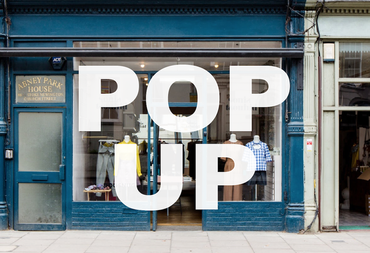 POP UP SHOP - STOKE NEWINGTON