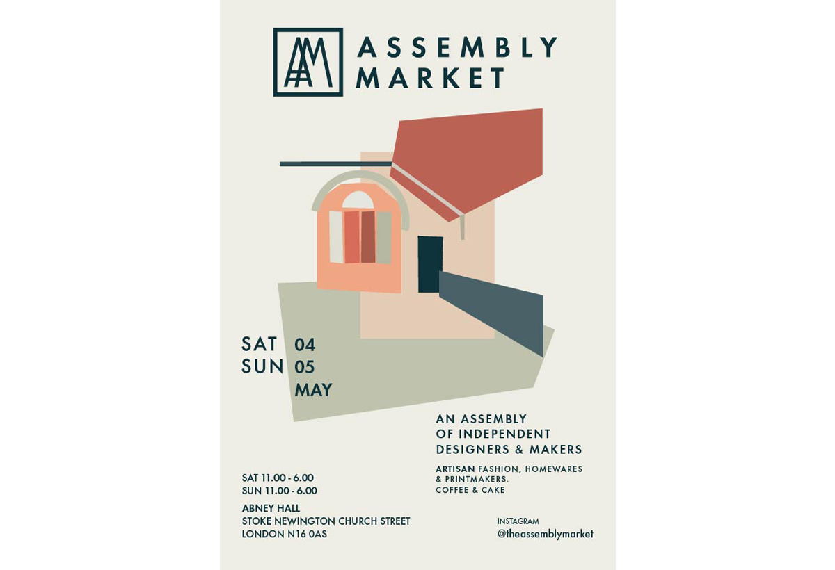 Join us at The Assembly Market this Saturday 4th May