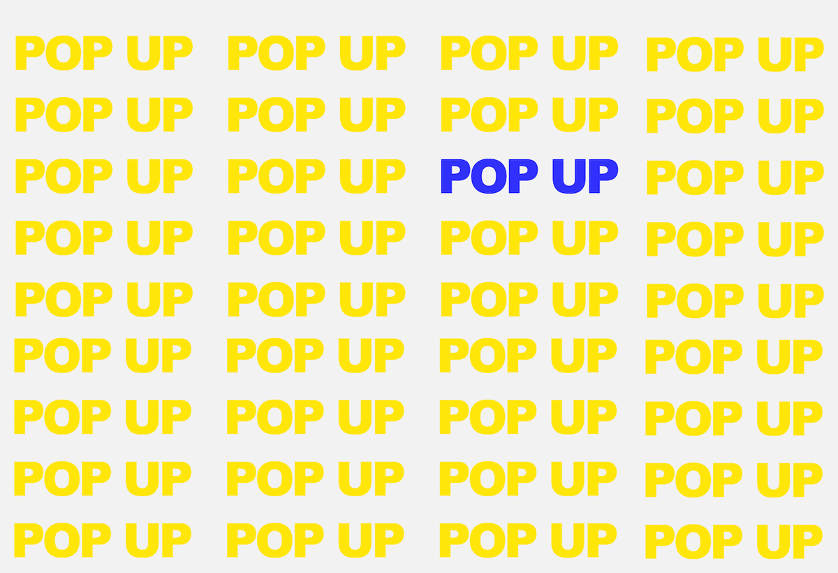 Visit our next Pop Up shop  in Marylebone