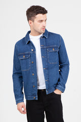 Centre Front Denim Jacket